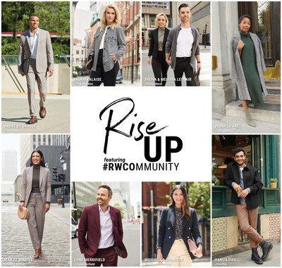 """RW&CO.'s Fall 2021 """"Rise Up"""" campaign with nine Canadian ambassadors (CNW Group/Reitmans (Canada) Limited)"""