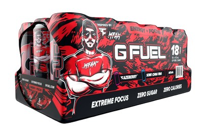 G FUEL, The Official Energy Drink of Esports®, teamed up with battle royale legend and FaZe Clan member, NICKMERCS, and Sam's Club to bring you G FUEL's first 18 pack of cans. The FaZe Clan Variety Pack features NICKMERCS' first flavor, MFAM Punch, FaZe Rug's best-selling Sour Blue Chug Rug, and FaZe Clan's FaZeberry. The pack is now available for sale exclusively in Sam's Club stores throughout the U.S. and online at www.samsclub.com for a limited time.
