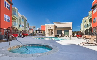Hamilton Zanze has purchased the 200-unit Enchanted Springs apartment community located in Colorado Springs, Colorado.
