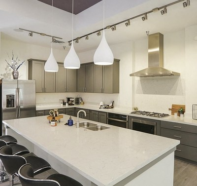 The Class A apartments are located just eight miles northeast of Downtown Colorado Springs.
