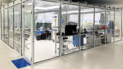 Signature Biologics' new 5,000 sq ft reasearch and development laboratory.