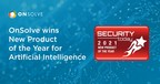 OnSolve Wins Security Today's 2021 New Product of the Year Award...