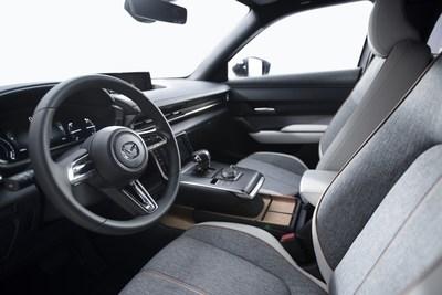 2022 Mazda MX-30 EV (Groupe CNW/Mazda Canada Inc.)