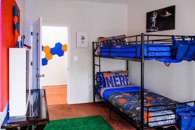 Select themed bedrooms are part of the12 bedroomsandfor rest before the next battle.
