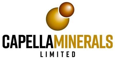 Capella Minerals Logo (CNW Group/Capella Minerals Limited)