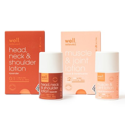The Parent Company Expands Product Portfolio with Launch of 'Well by Caliva' Lotions and Tinctures (CNW Group/TPCO Holding Corp.)