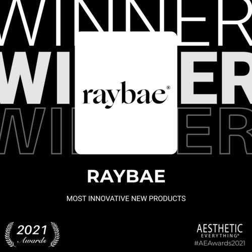 """Raybae Receives """"Most Innovative New Products"""" in the 2021 Aesthetic Everything® Awards"""