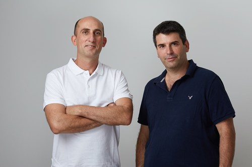 Pictured on the left, Yoav Levy (CO-FOUNDER & CEO) and right Jonathan Appel (CO-FOUNDER & CTO)