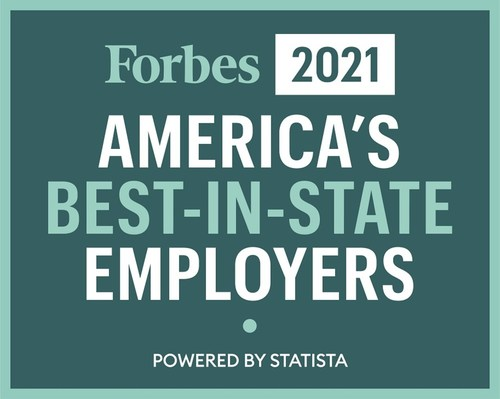 Forbes America's Best-In-State Employers