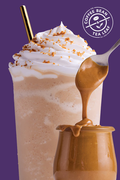 The Coffee Bean & Tea Leaf launches its fall menu with drinks such as the Cookie Butter Latte