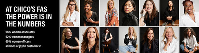 Chico's FAS, Inc. Debuts Campaign To Highlight Their Commitment to Women in The Workplace