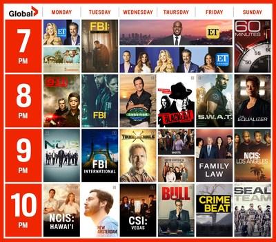 全球宣布秋季2021-22黄金时段首播,提供电视最期待的新系列和已建立的热门节目