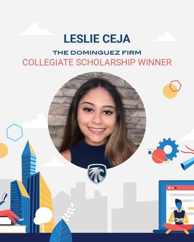 Collegiate Scholarship Winner Leslie Ceja