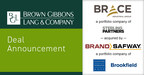 BGL Announces the Sale of Brace Industrial Group, Inc. to...