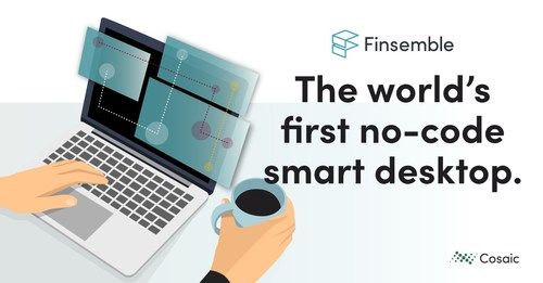 With the Finsemble Smart Desktop Designer, get application interoperability with no developers needed.