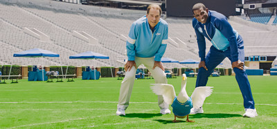 Coach Saban, the Aflac Duck and Coach Prime team up to kick off college football season.