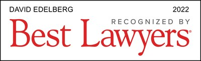 U.S. News & World Report Includes Scarinci Hollenbeck Partner David Edelberg in 2022 edition of The Best Lawyers in America© for Commercial Litigation