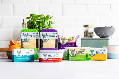 Truly Grass Fed offers premium, sustainably-produced Irish dairy products. The brand supports 1% For the Planet and Slow Food USA to advance its belief in food production that is healthier for animals, the environment and consumers.