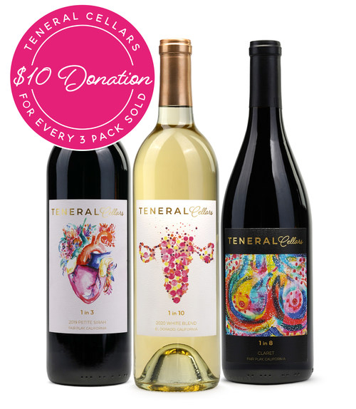 Teneral Cellars Launches Healthy Women, Healthy World Wine Collection Supporting the Endometriosis Foundation of America