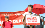 Prime minister, premier called out to support De Havilland strikers