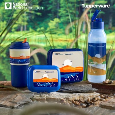 Tupperware and the National Park Foundation have expanded their partnership to include four limited-edition products that will help adventure-goers keep parks fresh and waste-free with designs inspired by parks around the country.