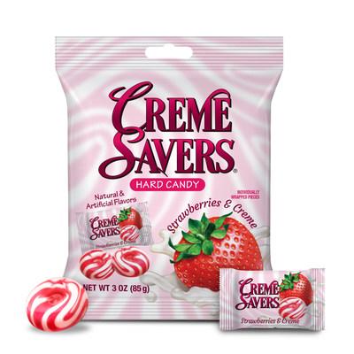 CREME SAVERS Strawberries & Creme