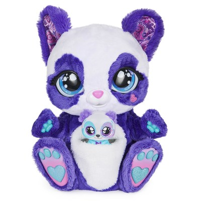 Peek-A-Roo is an interactive plush with an animated pouch that magically reveals a baby inside. (CNW Group/Spin Master)