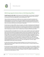 MEG Energy Appoints Darlene Gates as Chief Operating Officer (CNW Group/MEG Energy Corp.)