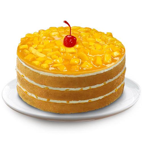 Mango Supreme Cake (PRNewsfoto/Red Ribbon Bakeshop Inc)