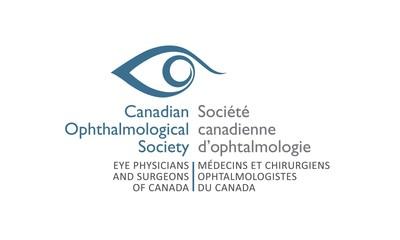 Logo de la Société canadienne d'ophtalmologie (Groupe CNW/Société canadienne d'ophtalmologie)