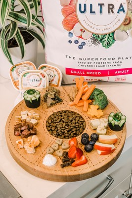 Fur-resh Fruit, Canine Crudites and a trio of premium proteins, NUTRO ULTRA™ just launched ULTRA Barkuterie Boards.Visit ULTRABarkuterieBoards.com to enter for a chance to win your own!