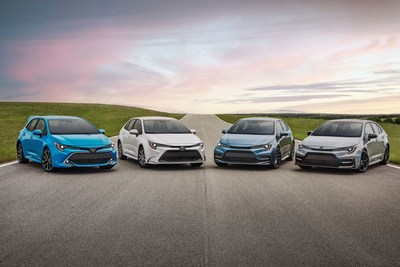 The Toyota Corolla Family