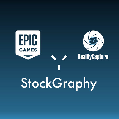 StockGraphy and Epic Games conclude reseller agreement of RealityCapture.  BEGIN3D, the website for selling RealityCapture and transmitting information about industrial use cases of 3D tech will be launched.