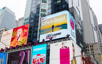Life's Good Film on New York City Times Square