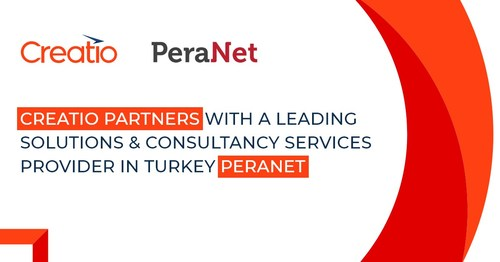 Creatio Partners with a Leading Solutions & Consultancy Services Provider in Turkey, PeraNet