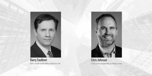 Barry Faulkner, Enterprise Managing Consultant and Chris Johnson, Senior Managing Consultant with RealFoundations.