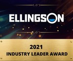 Ellingson Recognized Nationally Receiving Industry Leader Award...