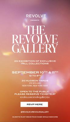 REVOLVE Gallery Invitation