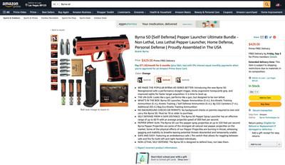 Byrna SD Kinetic Kit on Amazon