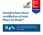 Legal & General America Earns Great Place To Work™...