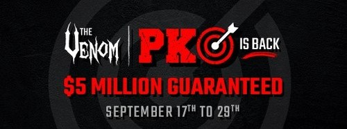 The Venom PKO is back $5 Million Guaranteed from September 17th to 29th