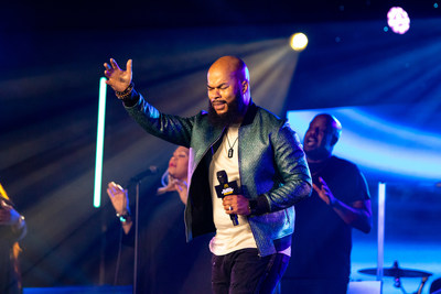 Grammy-nominated Gospel singer and performer JJ Hairston brings his powerhouse vocals to the McDonald's Inspiration Celebration Gospel Tour.