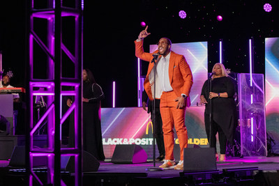 Award-winning gospel artist Isaac Carree demonstrates the power of God's redemption and restoration in his performance at McDonald's Inspiration Celebration Gospel Tour.
