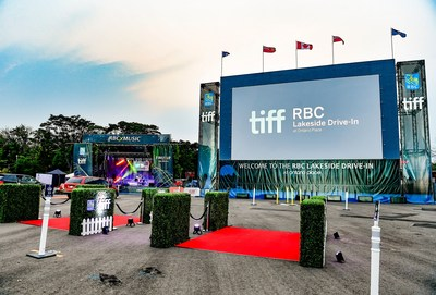 RBC will work alongside TIFF, bringing back fan favourite programs such as the RBC Lakeside Drive-In at Ontario Place (CNW Group/RBC)