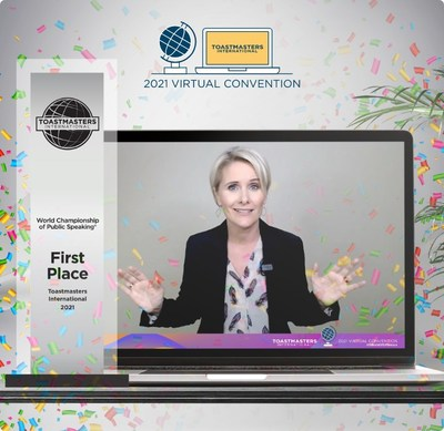 2021 Toastmasters World Champion of Public Speaking: Verity Price