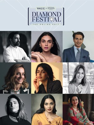 Natural Diamond Council and Vogue India come together with an Exclusive Virtual Diamond Festival