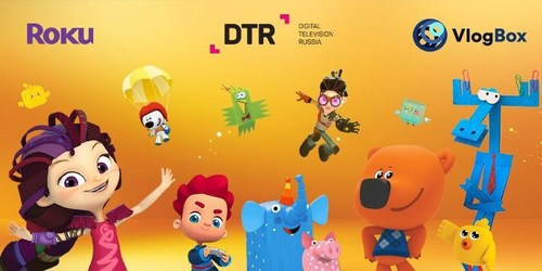 VlogBox announces partnership with Digital Television Russia to work on channels for 8 kids' cartoons