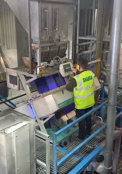 The agreement with Shabra helps to further secure Waddington Europe's long-term source of rPET and enables the company to expand its line of Eco Blend products made with post-consumer recycled content. Shabra's quality control is advanced by the latest technology of Buhler flake sorters that remove all contamination.