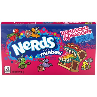 NERDS® unleashes an epic collab with the most recognizable fantasy touchstone in the gaming world: Dungeons & Dragons
