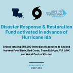 Greater New Orleans Foundation Activates Disaster Response & Restoration Fund for Hurricane Ida